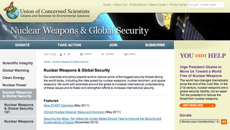 National Security and Nuclear Weapons Proliferation